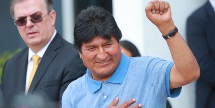 مورالس در بدو ورود به مکزیک: به مبارزه سیاسی ادامه می دهم