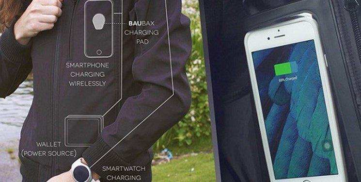 تلفن های همراهتان را با تی شرت های نسل جدید شارژ کنید