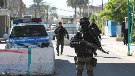 تدابیر شدید امنیتی در بغداد