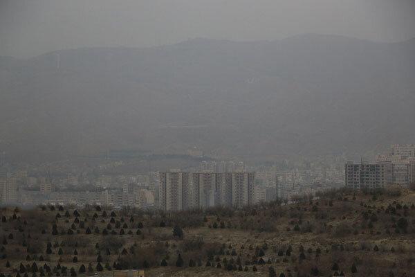 تداوم آلودگی هوای تبریز برای سومین روز متوالی