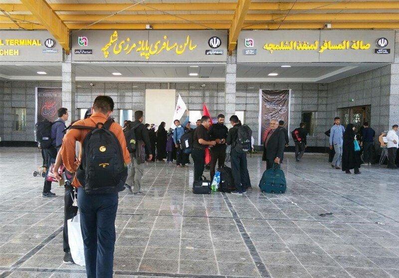 عراق مرز شلمچه را به روی مسافران ایرانی بست