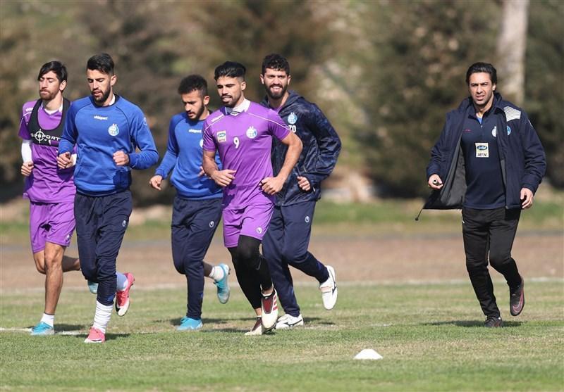 گزارش تمرین استقلال، فوتبال درون تیمی زیر نظر مجیدی