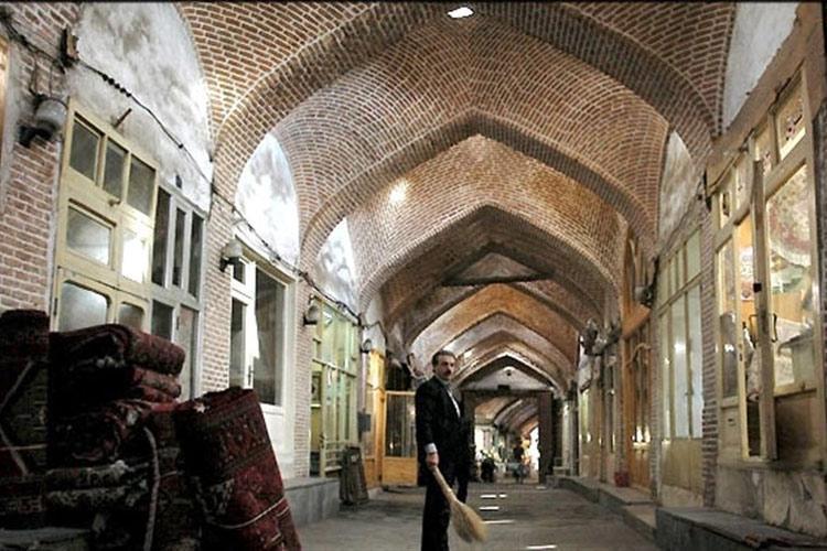 شروع سنگفرش بازار تاریخی شاهرود