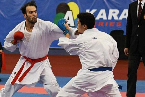 صعود اولین المپیکی کاراته به فینال، حذف آسیابری و خاکسار