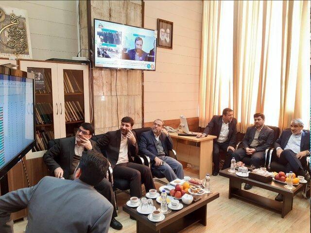 رصد لحظه به لحظه شرایط انتخابات از اتاق مانیتورینگ در ستاد مرکزی نظارت بر انتخابات