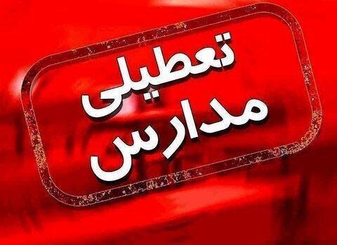 مدارس استان یزد تا پایان هفته تعطیل اعلام شد
