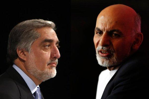 بحران دو حکومت در افغانستان، عبدالله و غنی همزمان تحلیف برگزار می نماید