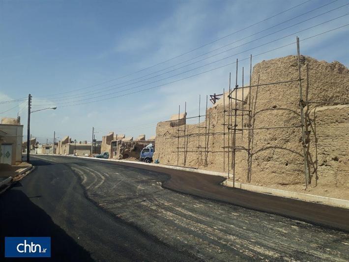 حصار بافت تاریخی بشرویه مرمت می گردد