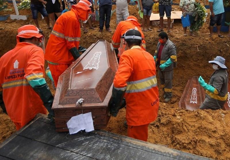 ثبت رکورد مرگ و میر کرونایی در برزیل؛ 881 نفر در یک روز جان باختند