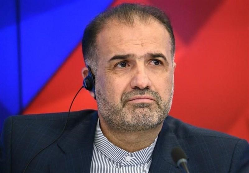 سفیر ایران در روسیه: منشاء مسائل خاورمیانه آمریکاست؛ آمادگی تهران برای یاری به مردم آمریکا