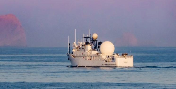 نشنال اینترست: کشتی جاسوسی آمریکا در خلیج فارس بر فعالیت موشکی ایران نظارت می کند
