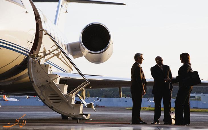 تصاویر باورنکردنی از هواپیماهای شخصی افراد معروف
