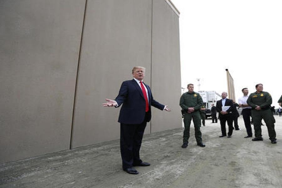 دیوار مرزی دردسرساز ترامپ