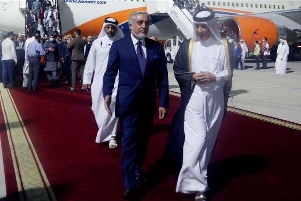 هیئت های دیپلماتیک آمریکا و افغانستان وارد پایتخت قطر شدند، هدف: آتش بس میان کابل - طالبان