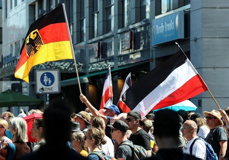 تظاهرات گسترده در برلین در اعتراض به محدودیت های کرونایی