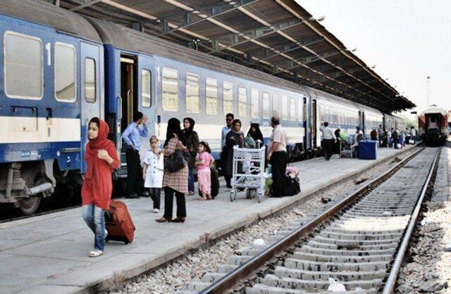 رشد 74 درصدی جابه جایی مسافر با قطار