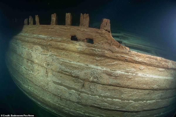 کشتی امپراتور هلند بعد از 400 سال پیدا شد (تصاویر)