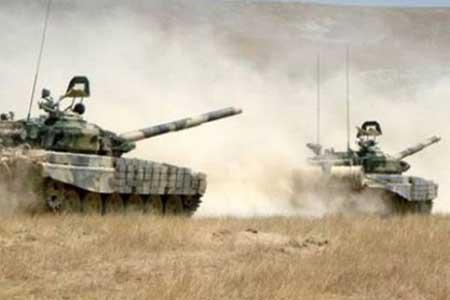 تداوم درگیری ها در قره باغ ، ارمنستان از انهدام 4 تانک آذربایجان اطلاع داد