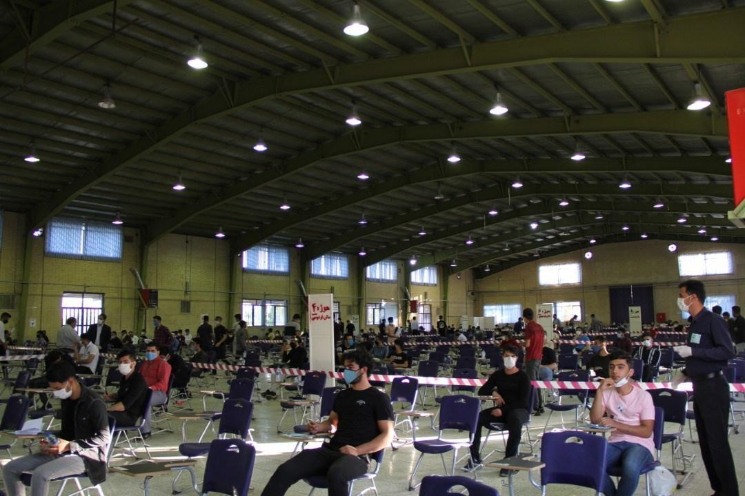 میزبانی دانشگاه آزاد اسلامی اصفهان از 800 داوطلب آزمون سراسری