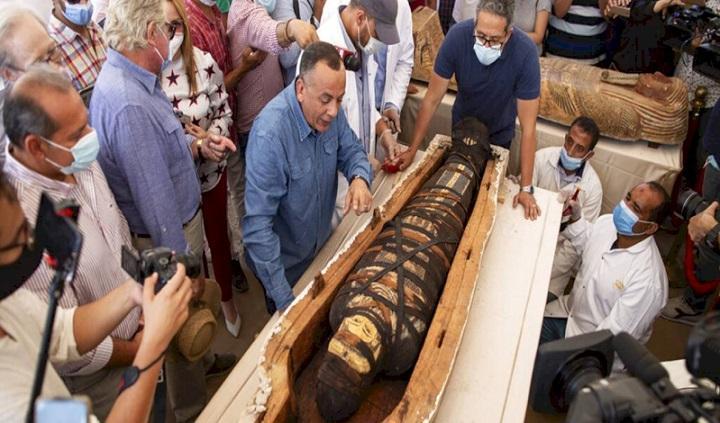 کشف 59 تابوت 2600 ساله در قاهره