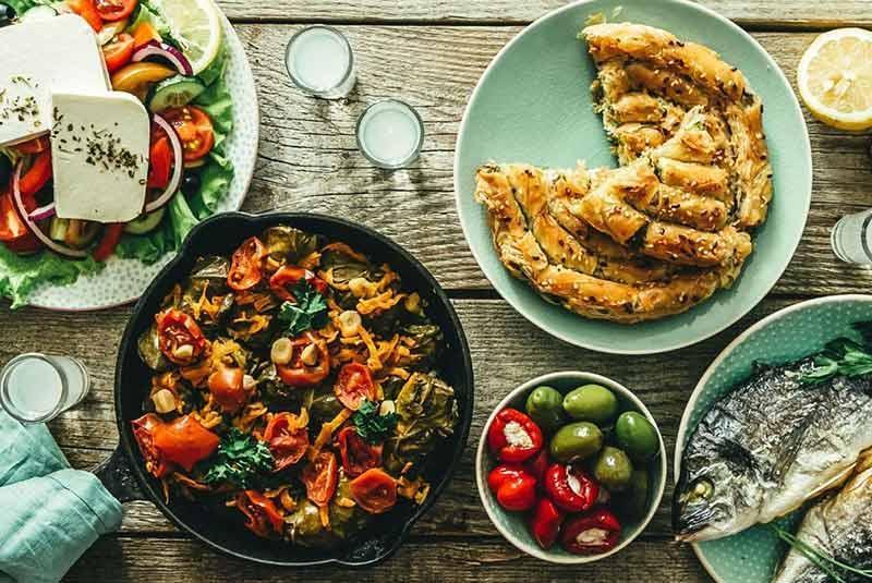 رسپی 7 غذای معروف یونانی