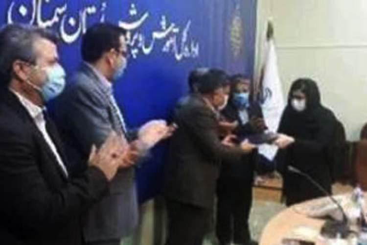 گروه های برتر لیگ کتابخوانی سمنان تجلیل شدند