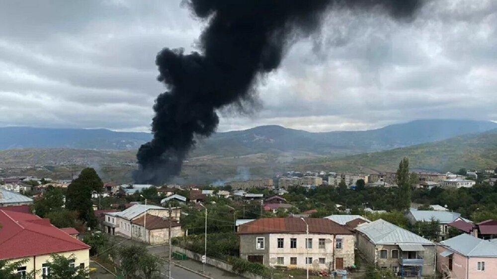 روسیه از برقراری آتش بس در امتداد خط درگیری قره باغ اطلاع داد
