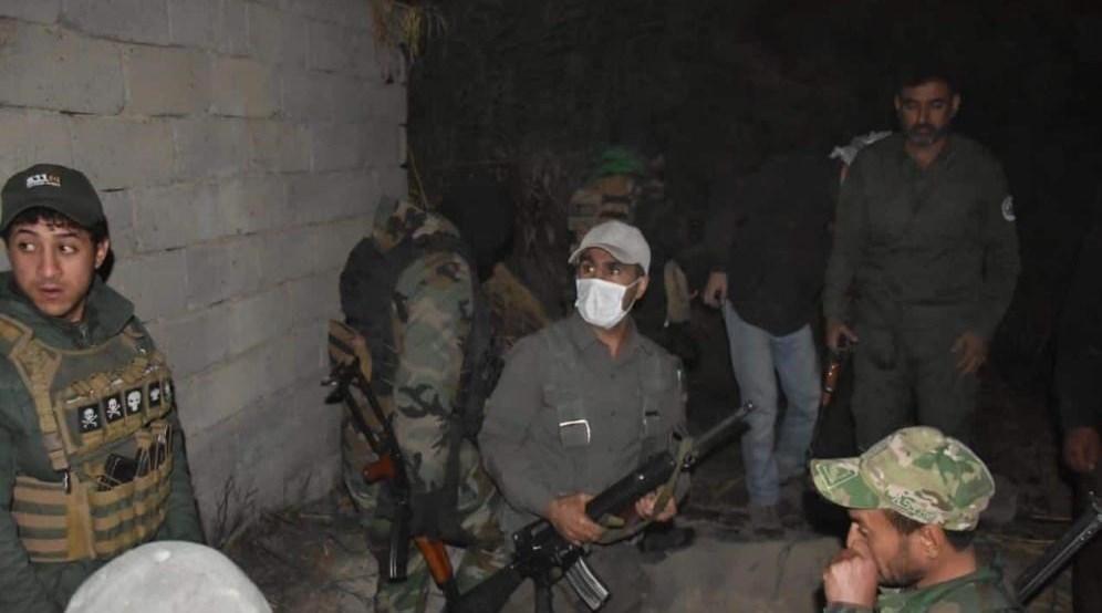 حشد شعبی تلفات گسترده به داعش در دیالی وارد کرد