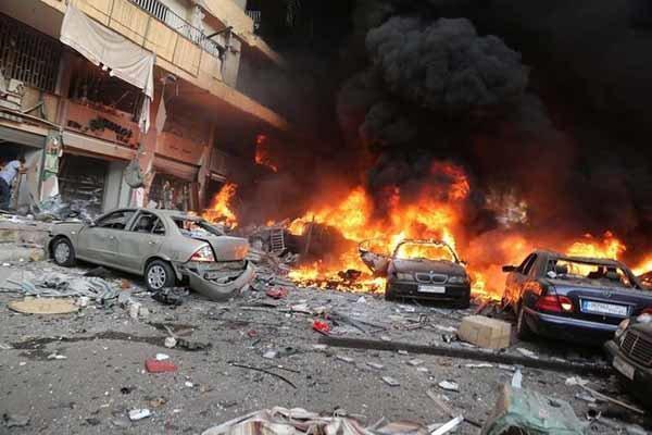 انفجار خودرو بمبگذاری شده در عفرین سوریه