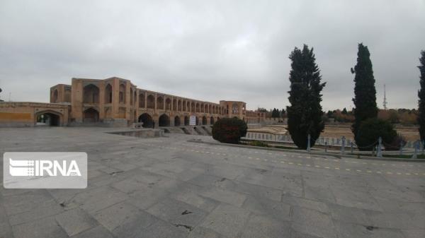 خبرنگاران باران به داد هوای آلوده کلانشهر اصفهان رسید