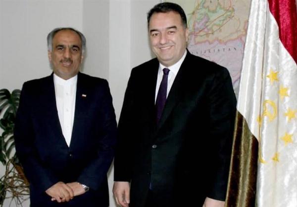 ملاقات سفیر ایران با وزیر انرژی تاجیکستان