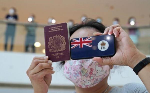 چین گذرنامه بریتانیا را برای هنگ کنگی ها به رسمیت نمی شناسد