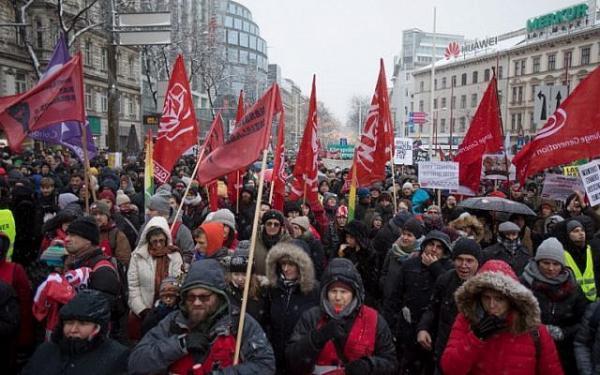 ممنوعیت راهپیمایی در اتریش