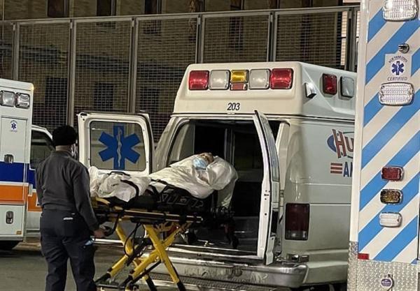 افزایش چشمگیر بیماران کرونایی بستری شده در بیمارستان های آمریکا