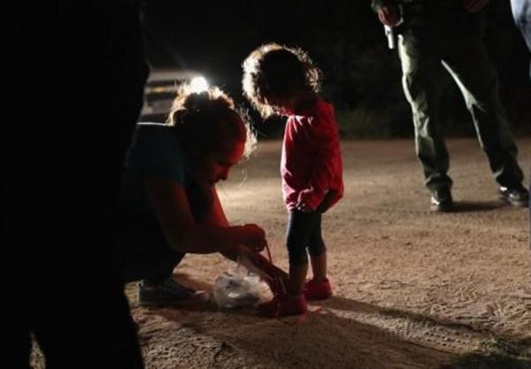 تعداد بچه ها مهاجر در بازداشتگاه های آمریکا به بیش از 15 هزار نفر رسید