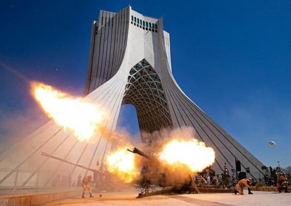 چرا کسی مسوولیت آثار شلیک توپ را بر برج آزادی گردن نمی گیرد؟