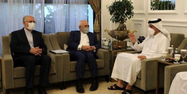 محور گفتگوی ظریف با وزیر امورخارجه قطر
