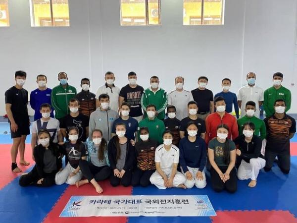 سرانجام کمپ تمرینی کاراته قزاقستان، تدریس صافی در آلماتی