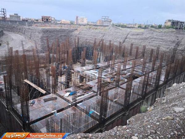 عملیات ساخت موزه منطقه ای جیرفت از سرگرفته می گردد