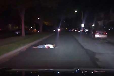 مرگ مرد سیاه پوست بعد از زیر گرفته شدن از طریق پلیس آمریکا