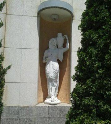 بازسازی ساختمان: بازسازی هفت مجسمه در مجموعه سعدآباد رو به سرانجام است